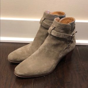 Saint Laurent suede booties. Worn once